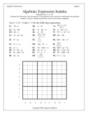 Algebra Fun Sheets: The Creative, Fun Algebra Worksheets